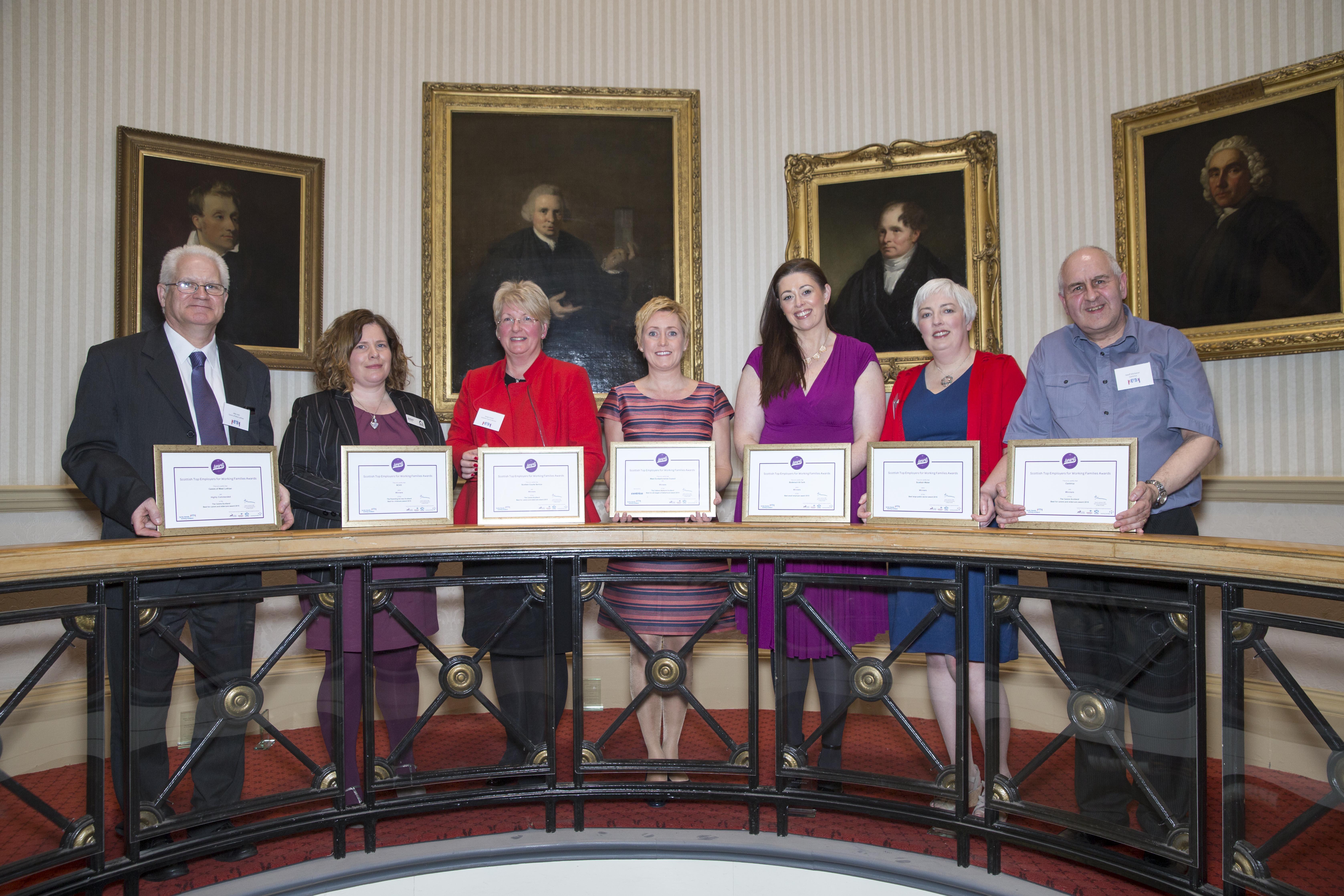 Scottish Top Employers winners 2015