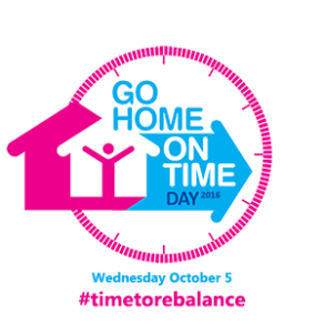 Go Home on Time Day 2016 logo